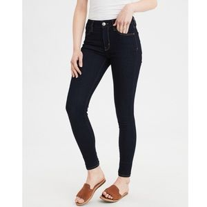 American Eagle | High Rise Jegging Dark Wash
